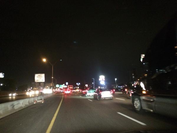 I 35 San Antonio Traffic Conditions And Accident Report