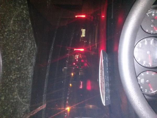 accident on I 75 north - Cygnet, OH - Navbug User Report