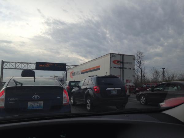 Standstill for last 20 minutes - Louisville, KY - Navbug User Report