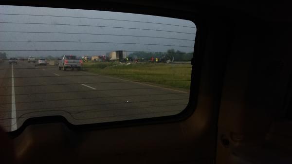 severe semi truck crash - Alice, TX - Navbug User Report