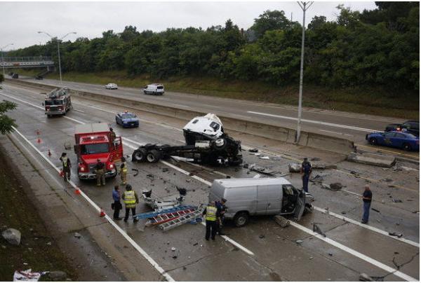 Mile Road Car Accident N