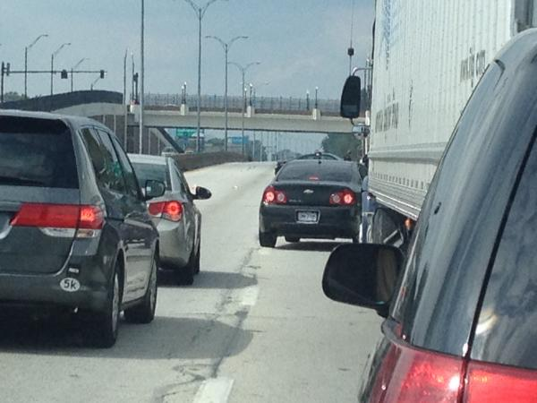 I-90 Cleveland Traffic Conditions and Accident Report