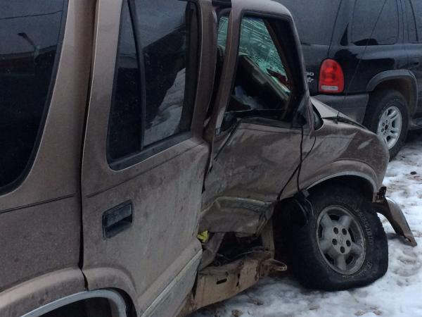 2-car Accident - Dewitt, MI - Navbug User Report