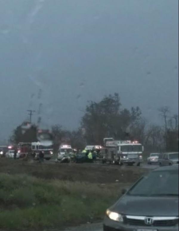 Roseville Car Accident Foothills