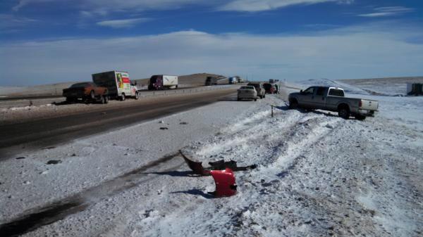 Rawlins Wyoming Car Crash May