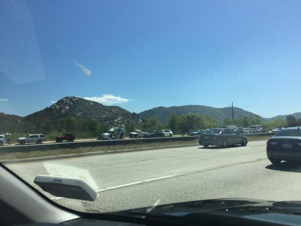 I-15 Fallbrook, CA Traffic and Road Conditions