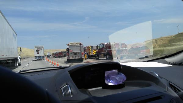 Bad accident - Livermore, CA - Navbug User Report