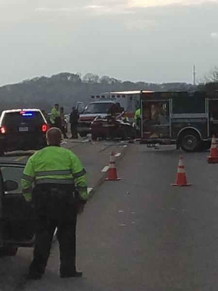 Accident on I-40 - Knoxville, TN - Navbug User Report