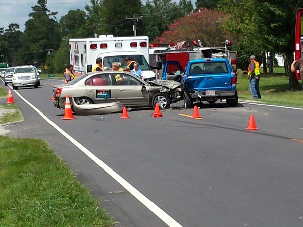 Car Accident In Cove City Nc