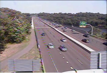 CAM 96 Stratford CT 15 SB Exit 53 - Rt. 110 (Main St.) - Southbound