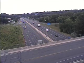 CAM 134 Waterbury I-84 EB Exit 25A - East of Austin Rd - Eastbound