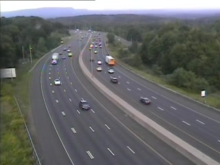 CAM 133 Cheshire I-84 WB Exit 26 - West of Waterbury Rd. - Westbound