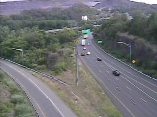 CAM 53 New Britain I-84 WB Exit 35 - North Mountain Rd. - Westbound