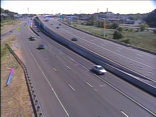 CAM 89 Hartford I-91 SB Exit 27 - Airport Rd. - Southbound
