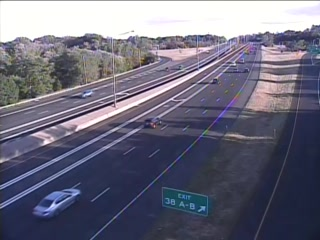 CAM 68 Windsor I-91 SB Exit 38 A/B - N/O Rt. 75 (Poquonock Ave.) - Southbound