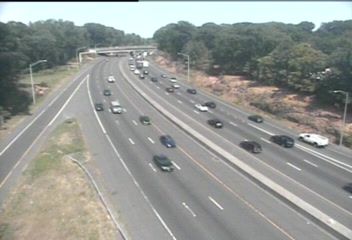 CAM 39 Fairfield I-95 SB Exit 19 - Mill Hill Rd. - Southbound