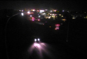 CAM 45 Fairfield I-95 SB N/O Exits 24 - Brentwood Ave. - Southbound