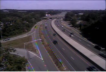 CAM 197 Waterford I-95 SB Exit 82 - Vauxhall St. Ext. - Southbound