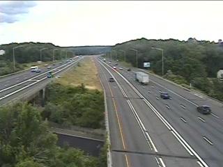 I-84 Btwn Exit 63 & 62 (Slater St) - Eastbound