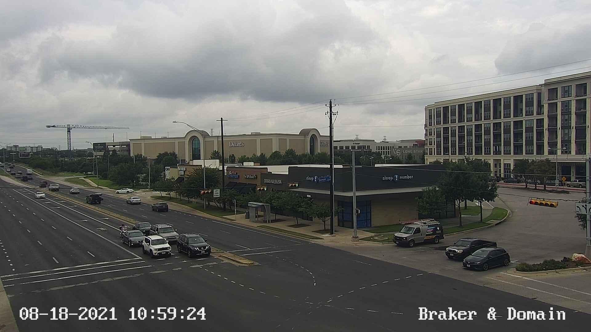 BRAKER LN / DOMAIN DR (Pickle Research Campus Driveway)