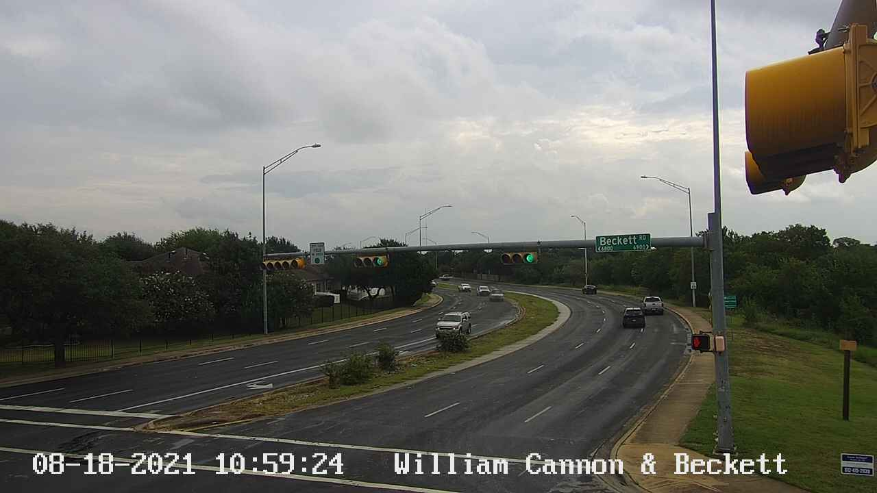 WILLIAM CANNON DR / BECKETT RD