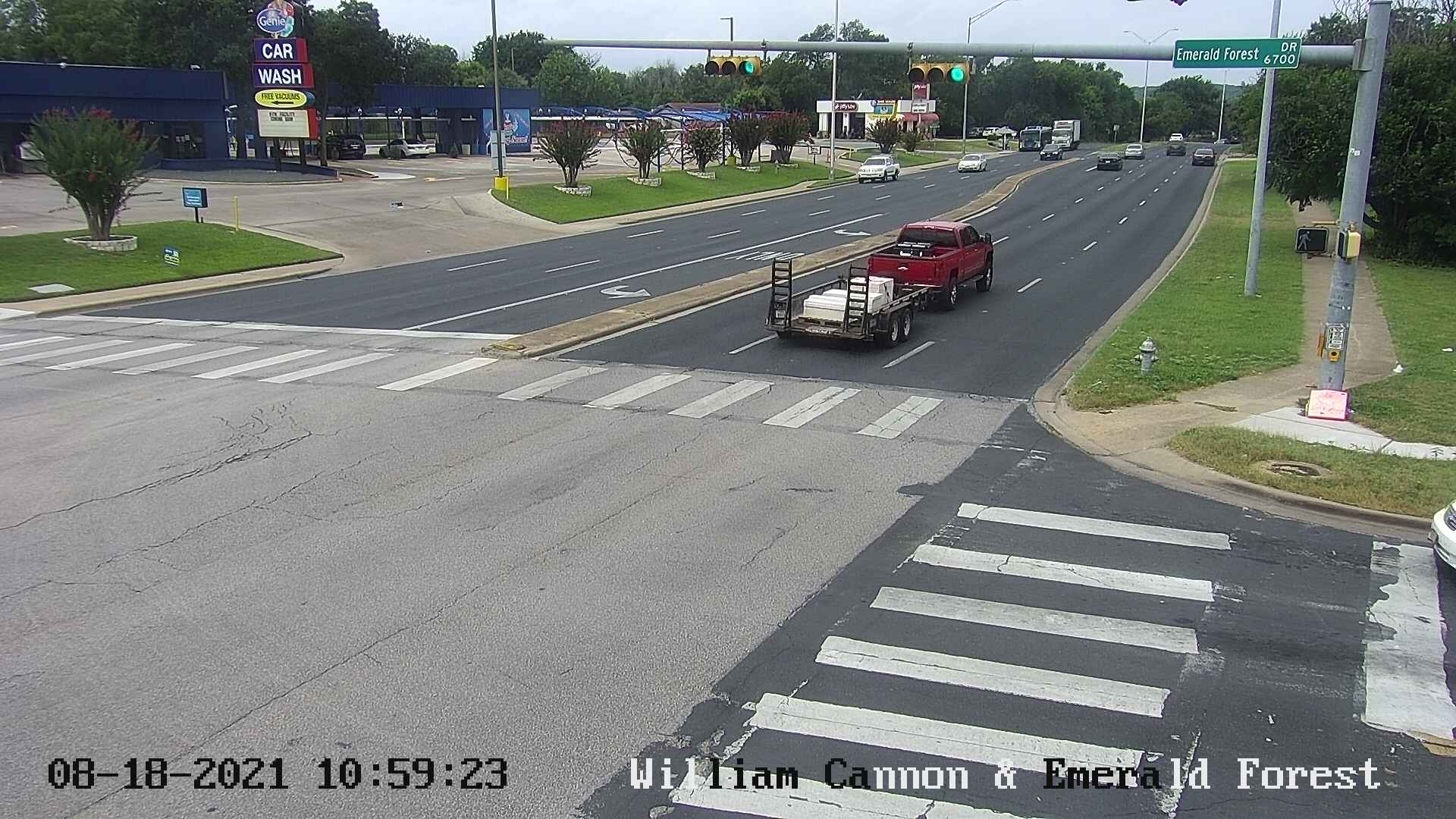 WILLIAM CANNON DR / EMERALD FOREST DR
