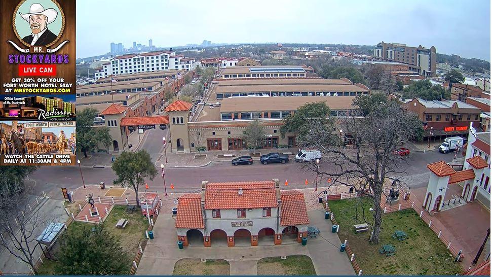 Fort Worth Stockyards National Historic District: Webcam de Fort Worth - USA