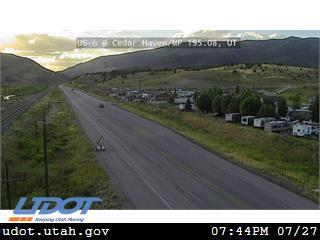 US 6 @ Cedar Haven Sheep Creek Rd MP 195.08 UT