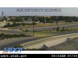 I-15 NB @ Layton Pkwy SR126 MP 330.12 LTN