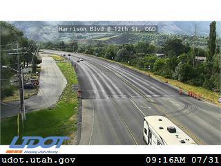 Harrison Blvd SR203 @ 12th St Ogden Canyon Rd SR39 OGD