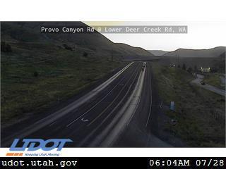 Provo Canyon Rd US 189 @ Lower Deer Creek Rd MP 17.14 WA