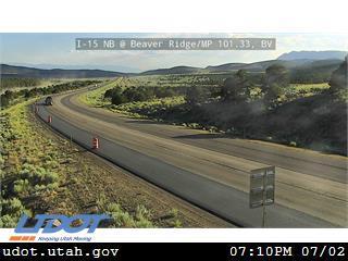 I-15 NB @ Beaver Ridge MP 101.33 BV