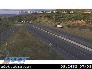 I-15 SB @ Scipio Summit Exit 184 MP 183.65 MD